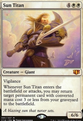 Commander 2014: Sun Titan