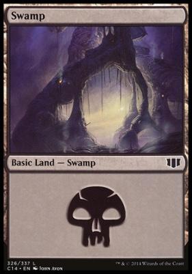 Commander 2014: Swamp (326 A)