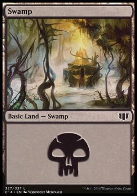 Commander 2014: Swamp (327 B)