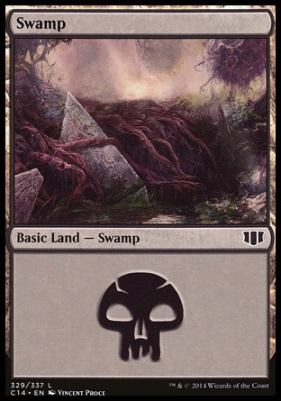 Commander 2014: Swamp (329 D)