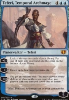 Commander 2014: Teferi, Temporal Archmage (Oversized Foil)