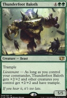 Commander 2014: Thunderfoot Baloth
