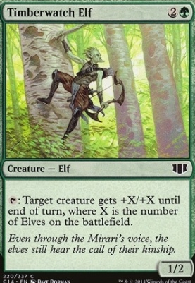 Commander 2014: Timberwatch Elf