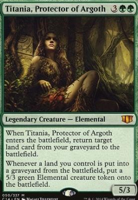 Commander 2014: Titania, Protector of Argoth