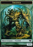 Commander 2014: Treefolk Token - Wolf Token