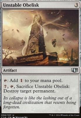 Commander 2014: Unstable Obelisk