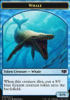 Commander 2014: Whale Token - Zombie Token (Blue)