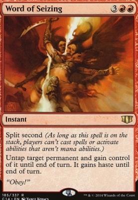 Commander 2014: Word of Seizing