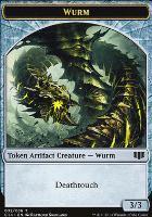 Commander 2014: Wurm Token - Goat Token (Deathtouch)