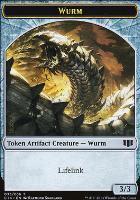 Commander 2014: Wurm Token - Goat Token (Lifelink)