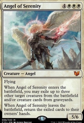 Commander 2015: Angel of Serenity