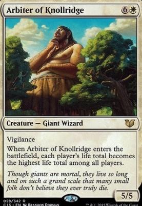 Commander 2015: Arbiter of Knollridge