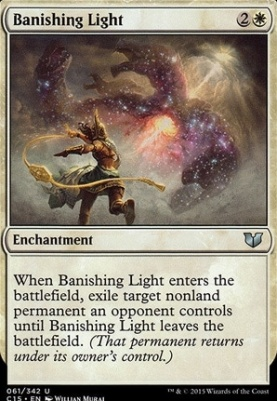 Commander 2015: Banishing Light