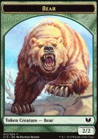 Commander 2015: Bear Token - Spider Token