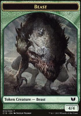 Commander 2015: Beast Token - Snake Token