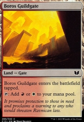 Commander 2015: Boros Guildgate