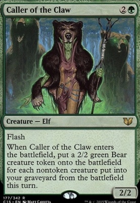 Commander 2015: Caller of the Claw