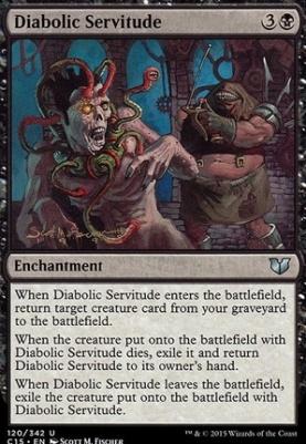 Commander 2015: Diabolic Servitude