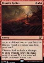 Commander 2015: Disaster Radius