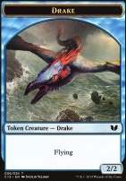 Commander 2015: Drake Token - Elemental Token (Blue/Red)