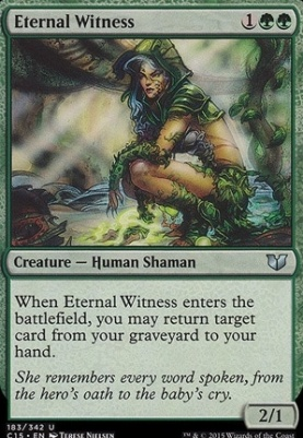 Commander 2015: Eternal Witness