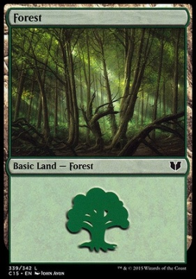 Commander 2015: Forest (339 A)