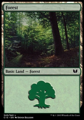 Commander 2015: Forest (340 B)