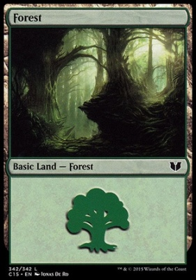 Commander 2015: Forest (342 D)