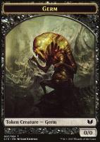 Commander 2015: Germ Token - Zombie Token