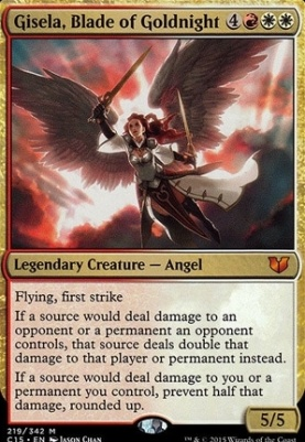 Commander 2015: Gisela, Blade of Goldnight