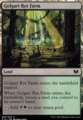 Commander 2015: Golgari Rot Farm