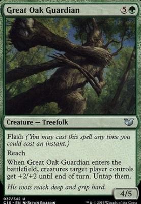 Commander 2015: Great Oak Guardian