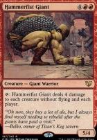 Commander 2015: Hammerfist Giant