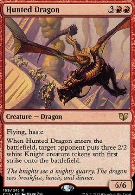 Commander 2015: Hunted Dragon