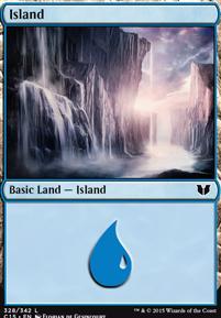 Commander 2015: Island (328 B)