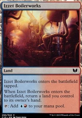 Commander 2015: Izzet Boilerworks