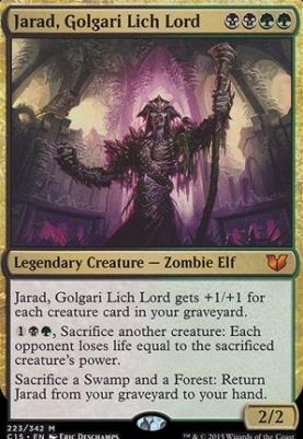 Commander 2015: Jarad, Golgari Lich Lord