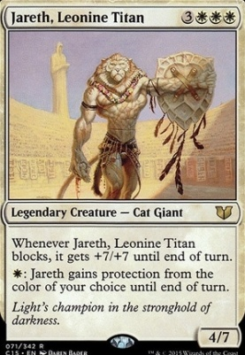 Commander 2015: Jareth, Leonine Titan