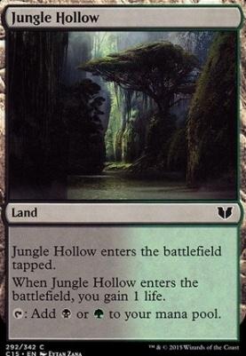 Commander 2015: Jungle Hollow