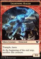 Commander 2015: Lightning Rager Token