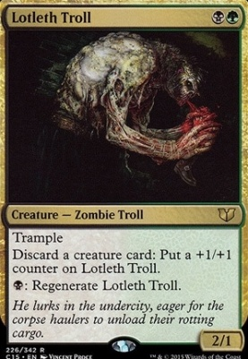 Commander 2015: Lotleth Troll
