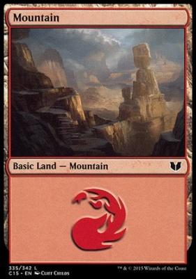 Commander 2015: Mountain (335 A)