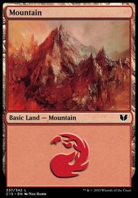 Commander 2015: Mountain (337 C)
