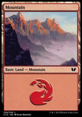 Commander 2015: Mountain (338 D)