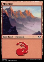 Commander 2015: Mountain (338 D)