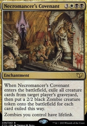 Commander 2015: Necromancer's Covenant