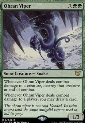 Commander 2015: Ohran Viper