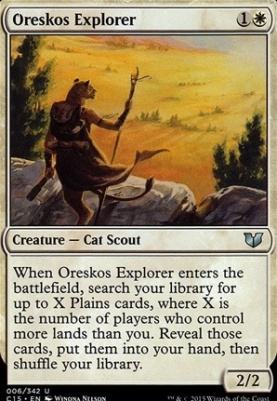 Commander 2015: Oreskos Explorer