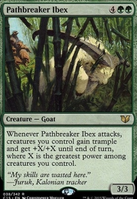 Commander 2015: Pathbreaker Ibex