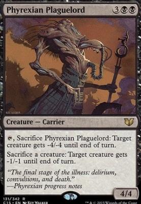 Commander 2015: Phyrexian Plaguelord